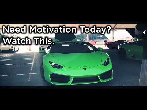 20 Year Old Drives Lambo for The First Time (Entrepreneur Motivation)