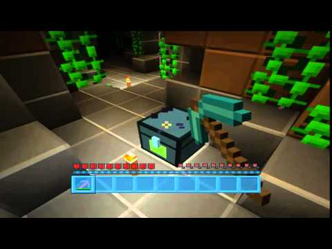 Minecraft Xbox360 - Ender chest backpack glitch - Tutorial