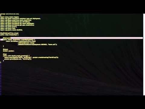 Testing WebLogic Apps with Arquillian