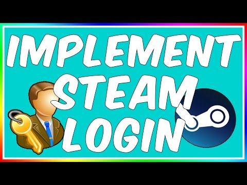 How To: Add Steam OpenID Login Into Your Site!