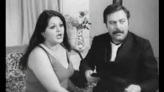 shahnaz tahraniعشقبازي شهناز تهراني و همايون در فيلم جاني تپل