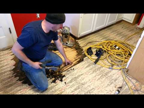 How to remove vinyl without damaging hardwood (eas