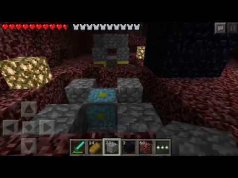 How to Break Bedrock in Minecraft Pocket Edition 0.9.0 WITHOUT JAILBREAK!