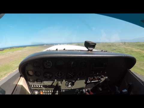 Flying Between Maui and Molokai