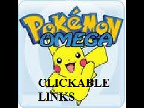 How to Make Clickable Links-Pokemon Omega
