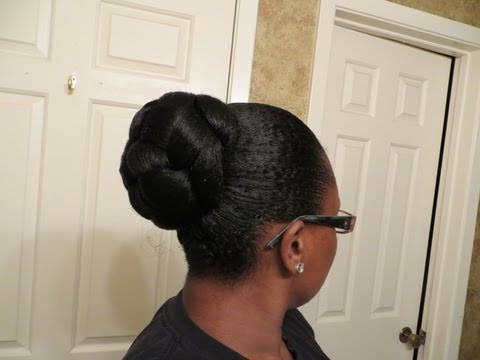 Perfect Protective Style: Faux Bun