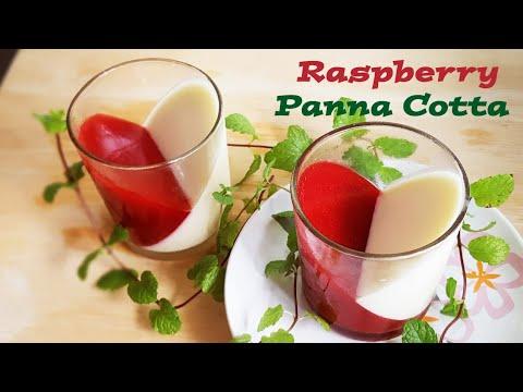 Raspberry Panna Cotta [in English ]