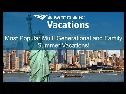 Most Popular Multi-Generational and Family Summer Vacations (4.26.17)