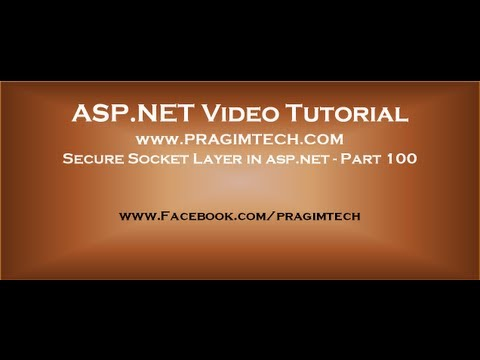 Secure Socket Layer in asp.net   Part 100