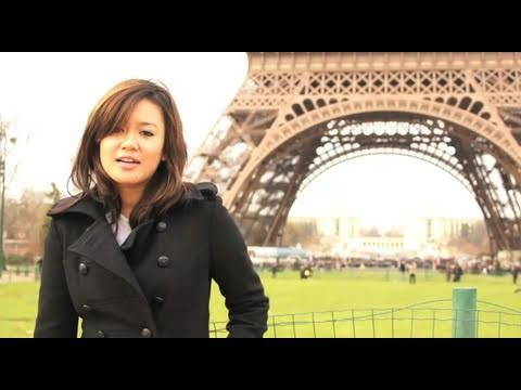 Natalie Tran in Paris with Lonely Planet