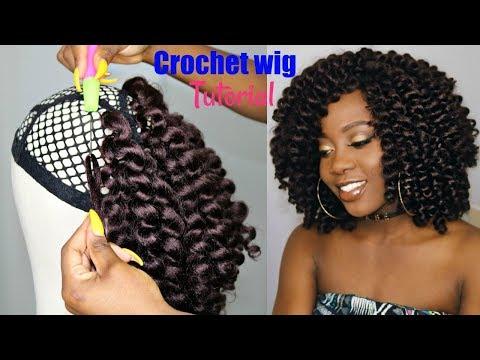 HOW TO MAKE A CROCHET WIG (Beginner Friendly Tutorial)   Jamaican Bounce Crochet Braiding Hair