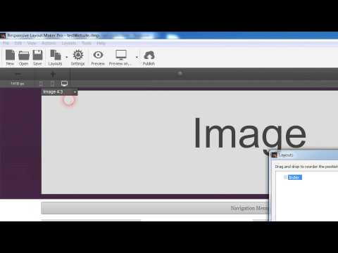 Add a background image to row in Responsive Layout Maker