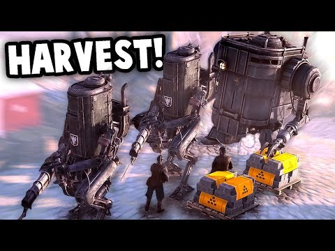 UNSTOPPABLE MECH Army!  Defend the Base! (Iron Harvest 1920+ Gameplay Part 2)
