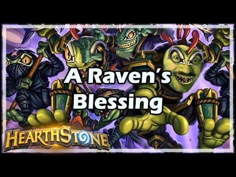[Hearthstone] A Raven's Blessing - Tavern Brawl #147
