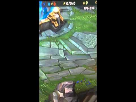 League of Legends Load Screen Timer