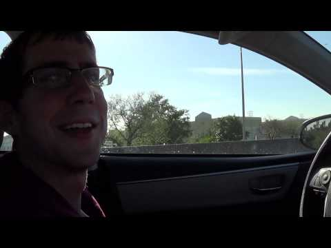 driving from Orlando to Miami to catch our cruise (March 9th, 2014)