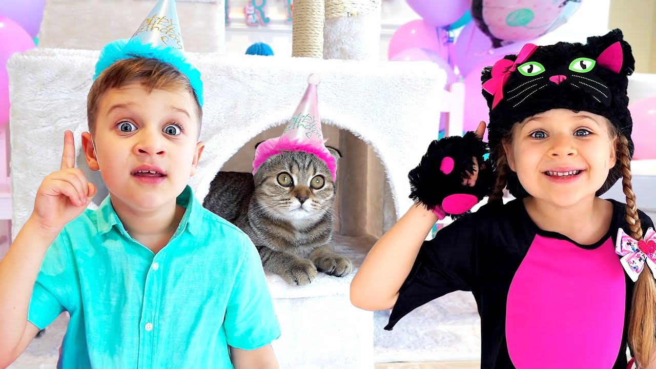 Diana and Roma - The best cat stories for kids