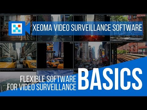 Xeoma Video Surveillance Software : Video 1. The Basics. (In English)