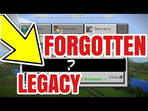 THE FORGOTTEN LEGACY OF MINECRAFT!?