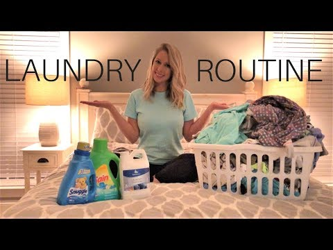 Laundry Routine | EnviroKlenz | Clean With Me | Laundry Motivation | Cleaning Motivation