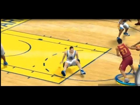 I MADE KLAY THOMPSON HIT THE GROUND!!!THE NASTIEST CROSSOVER EVER!!! NBA 2K17 NBA FINALS