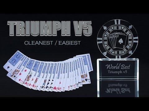 WORLD BEST magic tricks Triumph v5 - Astonishing EASIEST Triumph