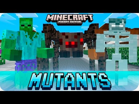 Minecraft PE Mods - Mutant Creatures Mod - Epic Creatures for Android MCPE 0.15.X