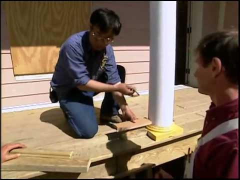 Building a Porch Railing