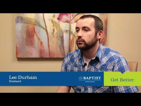 Baptist Cancer Center patient tells her story