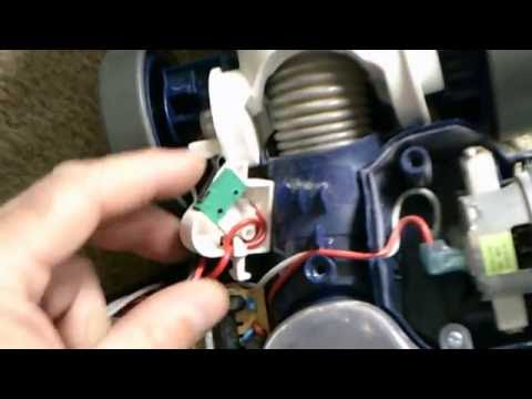 Shark Rotator Professional Vacuum Cleaner Head Doesnt Work Part 2 of 2