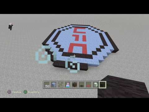 (Minecraft) how to make [UFC ring]