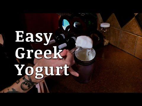 How to Make Easy Greek Yogurt