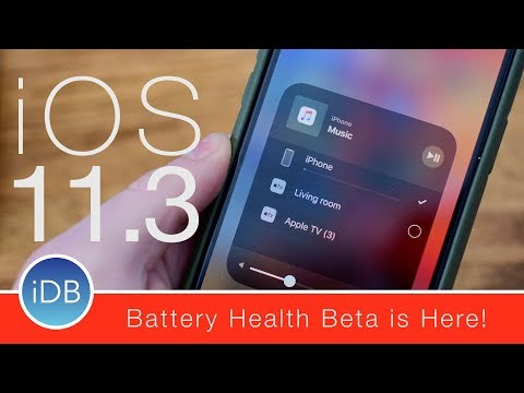 What's New in iOS 11.3 Beta 2:  Battery Health, ClassKit, & Other Tweaks