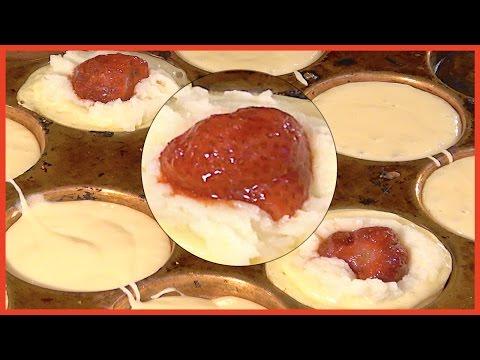 How to make OBANYAKI - Strawberry, Banana, Taro | Japanese Food