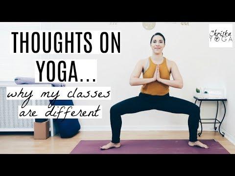 Why I Teach Differently | My Yoga Philosophy | My Yoga Teaching Methodology | ChriskaYoga