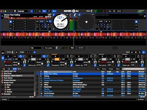 Serato DJ SP6 Sampler