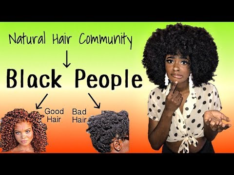 Only BLACK PEOPLE are apart of the Natural Hair Community ? | alexuscrown