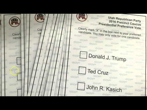 Utah Caucus Results A Sham: Insider Exposes No ID Check, Had 50 Ballots In Hand