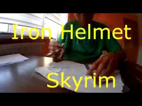 Crafting Iron helmet from Skyrim