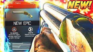 "NEW EPIC M.2187 Shotgun has INSANE RANGE! Infinite warfare NEW EPIC ""M.2187 - SALVO"" WEAPON GAMEPLAY"