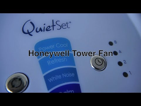 Best Tower Fan by Honeywell w/ Oscillating Pedestal Stand / Indoor Outdoor Cooling w/ Remote Control