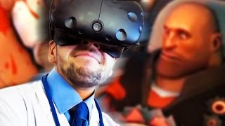 VIRTUAL REALITY DOCTOR   Surgeon Simulator (HTC Vive Virtual Reality)