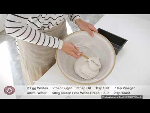 Gluten Free White Bread Recipe | FREEE by Doves Farm