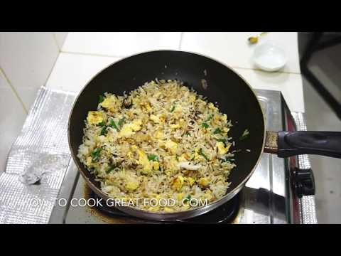 How to Cook Egg Fried Rice Video Recipe