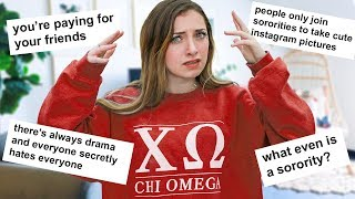 The TRUTH About Sororities!