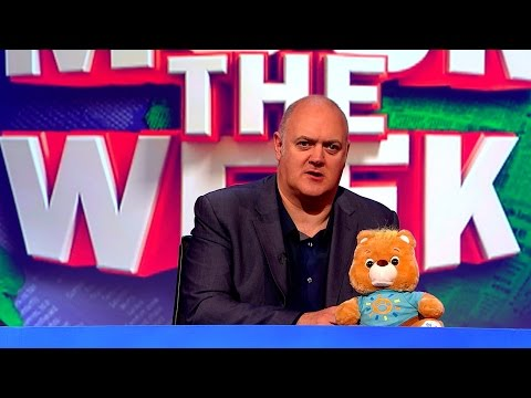 Teddy bear freaks out Dara - Mock the Week: Christmas Special Preview - BBC Two