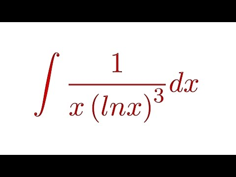 Integral ∫ 1/x(lnx)^3 dx