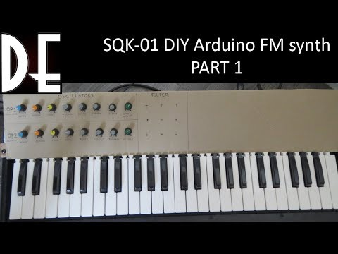 the SQK-01 - Arduino digital/analog FM synthesizer - Part 1
