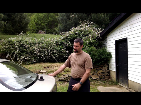 TRAM 300 CB antenna 4 year review and Range tests