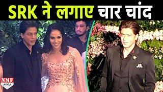 Virat और Anushka के Reception में Shahrukh ने लगाए चार चांद
